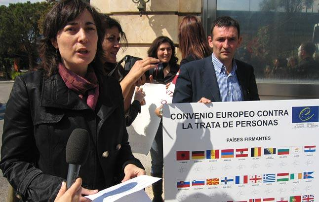 España: 18 ONG solicitan al gobierno la adhesión al Convenio Europeo contra la Trata de Personas y la protección de las víctimas