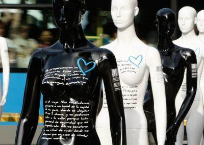 Campaña Corazón Azul en España