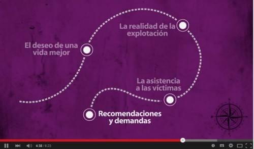 El Viaje de Isela. Video sensibilización #contralatrata