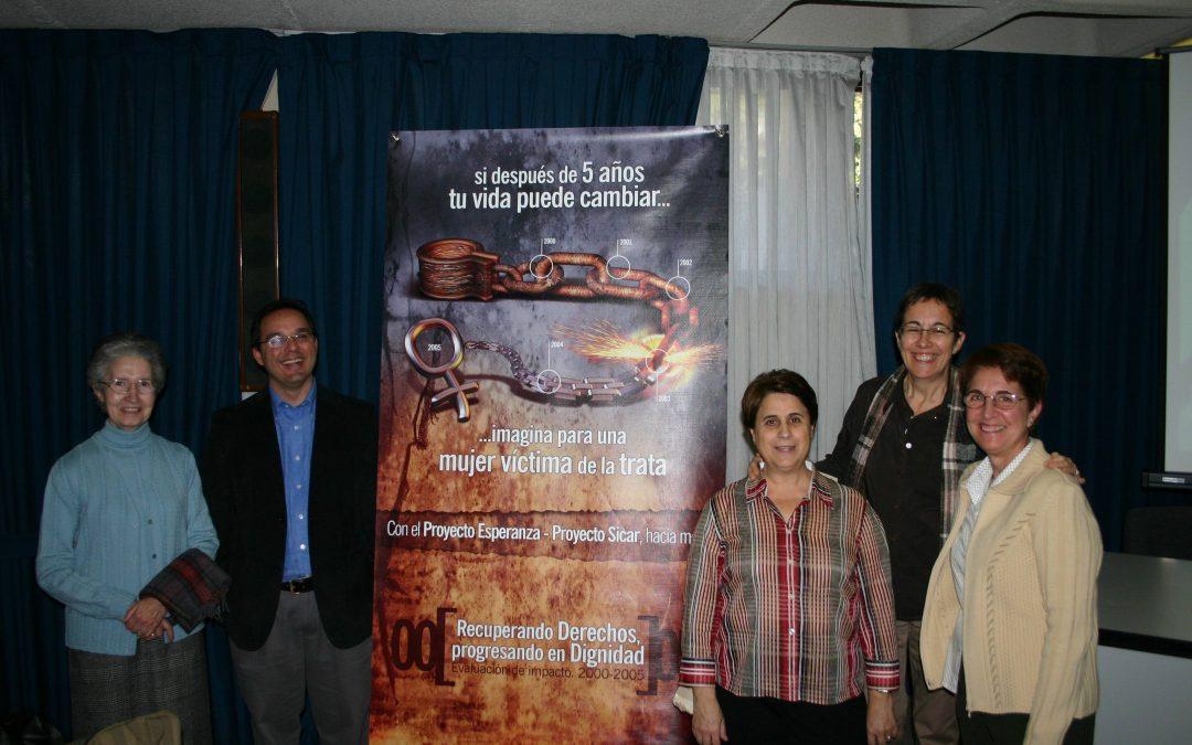 Lanzamiento del primer informe sobre la  intervención con mujeres traficadas