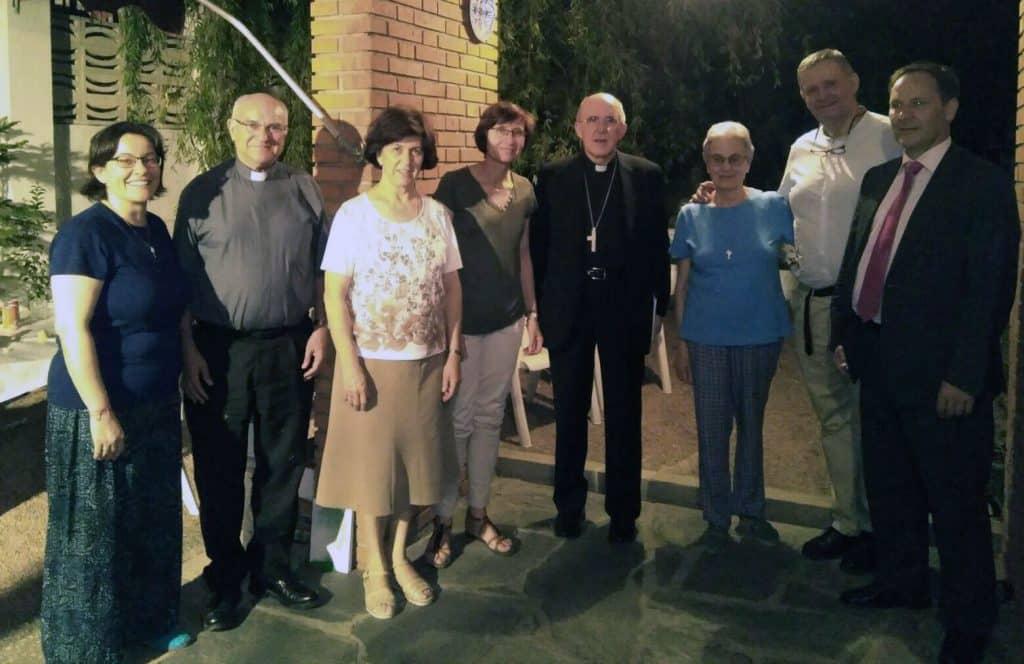 Carlos Osoro visita Proyecto ESPERANZA. Víctimas de Trata de Mujeres