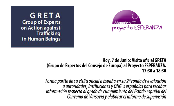 GRETA informe españa proyectoesperanza