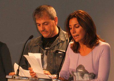 Carlos sobera y pastora Vega