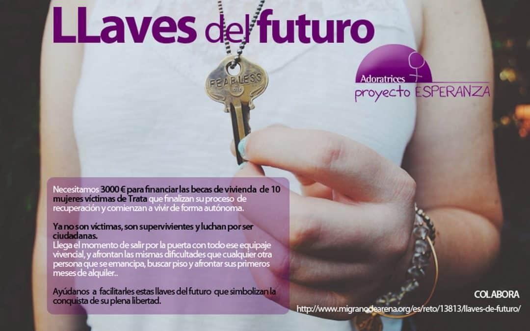 Lanzamos una campaña de crowdfunding: «Llaves de futuro»