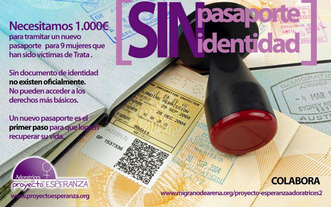"""Proyecto Esperanza lanza su campaña """"Sin Pasaporte, Sin Identidad"""""""