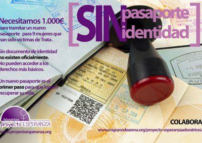 Sin pasaporte, sin identidad