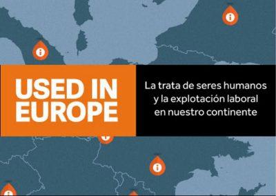 Campaña Used in Europe contra la explotación laboral