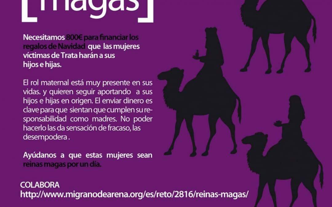 Lanzamiento campaña: «Reinas Magas por un día»