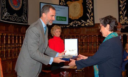 Adoratrices recibe el VI Premio de Derechos Humanos Rey de España