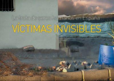 Colaboración vídeo Defensor del Pueblo. Víctimas Invisibles