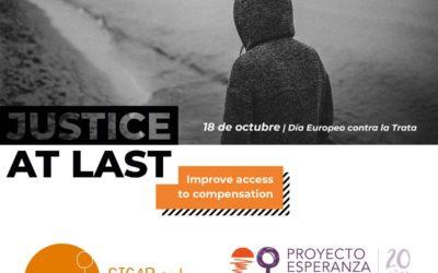 Proyecto Esperanza y Sicar CAT solicitan a los partidos políticos que garanticen el acceso a la justicia y a la compensación de las víctimas de Trata
