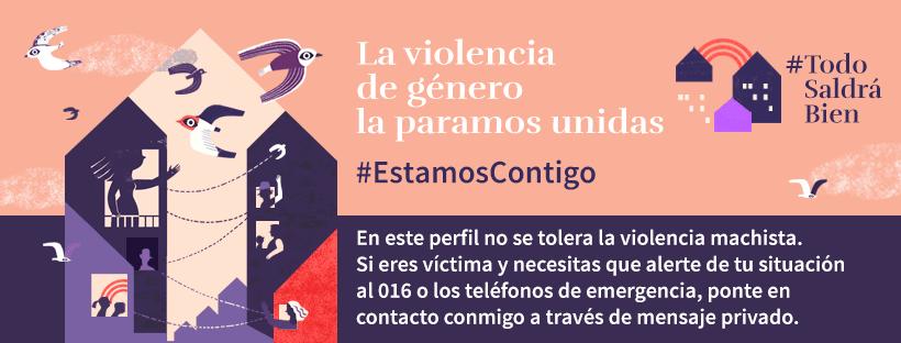 Difusión de la campaña de la Delegación del Gobierno contra la Violencia de Género