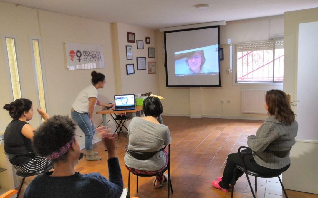 Crecimiento personal para víctimas de trata durante #COVID19