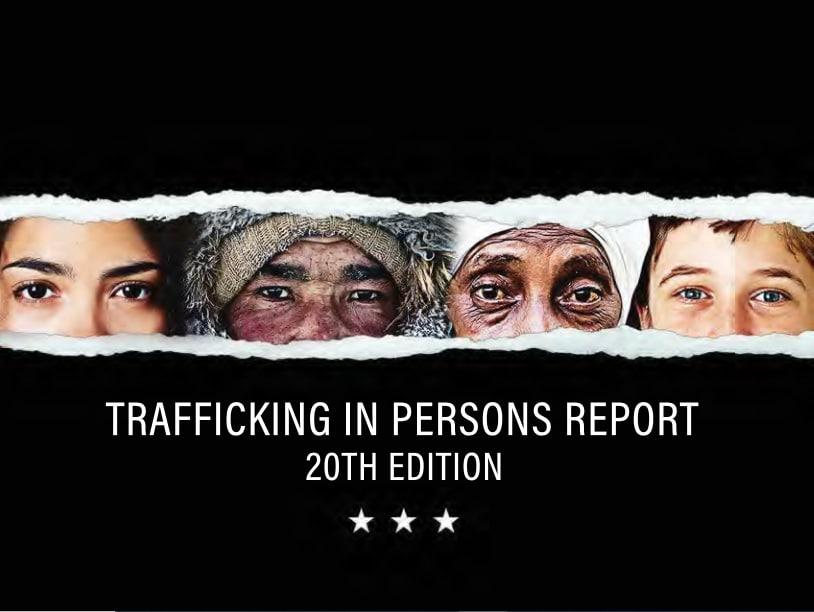 TIP Report 2020 contra la Trata de Seres Humanos