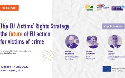 Presentación de la Primera Estrategia de la Unión Europea sobre los Derechos de las Víctimas