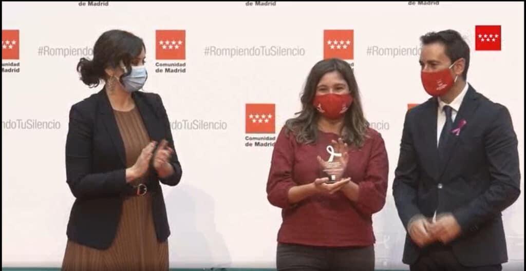 III Reconocimiento de la Comunidad de Madrid con motivo del 25 de Noviembre