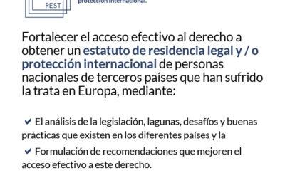 Las instituciones europeas deben garantizar la dignidad y la recuperación integral de las víctimas de trata asegurando su acceso a un estatus legal y a protección a largo plazo